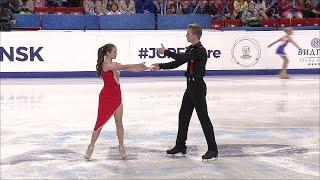 Ритм-танец. Танцы. Гран-при России по фигурному катанию среди юниоров 2019/20