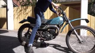 Honda MT125 Elsinore Walk around