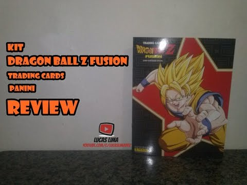 Review Kit Dragon Ball Z Fusion - Trading Cards