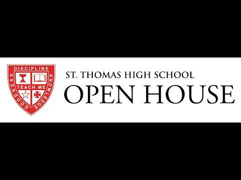 St Thomas High School - Open House 2020 Virtual Tour