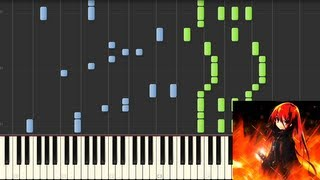 Joint - Shakugan no Shana ii OP1 (animenzzz) synthesia