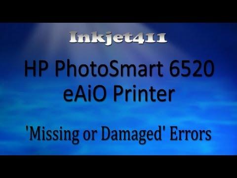 Hp 6520 Ink >> HP Photosmart 6520 Error Troubleshooting - YouTube