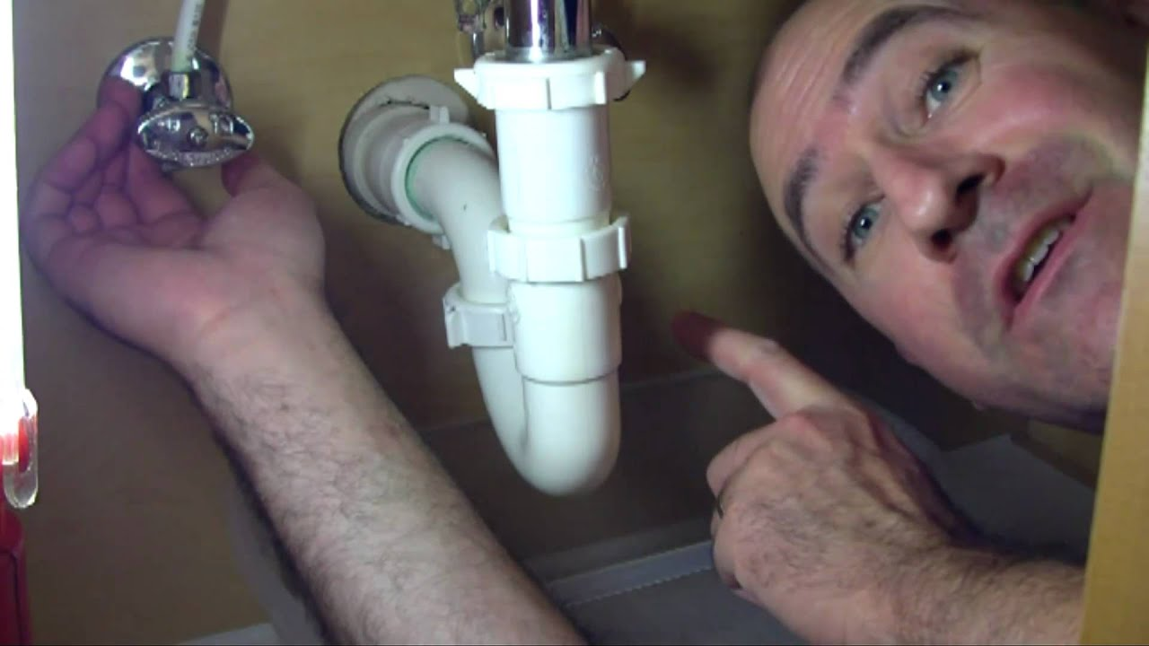 how to fix a slow draining or clogged sink promaster home repair
