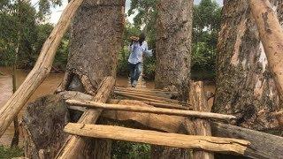 Daraja la Mfunje Kenya: Je hili ndilo daraja hatari zaidi duniani?