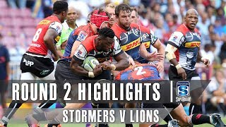 ROUND 2 HIGHLIGHTS: Stormers v Lions - 2019