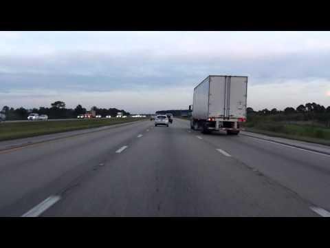 Interstate 95 - Florida (Exits 87 to 96) northbound
