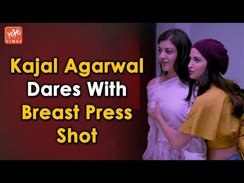 Kajal Agarwal Dares With Press Shot | Elli Avram |  Kangana Ranaut | YOYO Times thumbnail