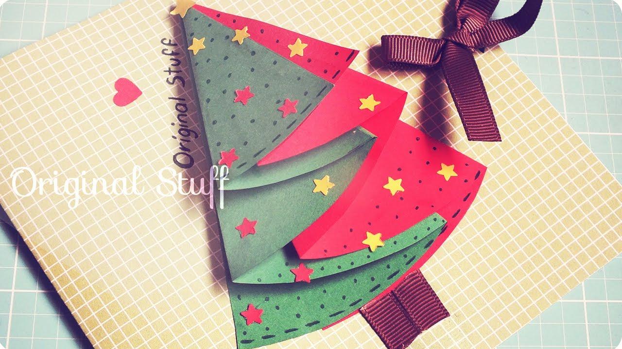 Carta de navidad f cil original stuff youtube - Como hacer tarjetas de navidad faciles ...