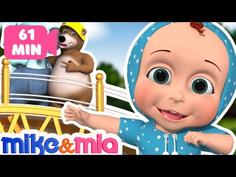 London Bridge is Falling Down | Nursery Rhymes Collection and Kids Songs by Mike and Mia