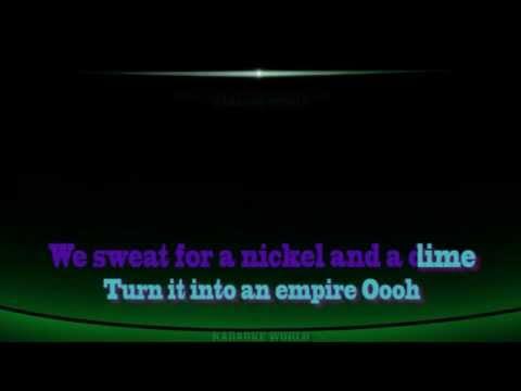 Rihanna - American Oxygen (Karaoke/Instrumental)