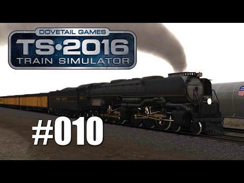 Train Simulator 2016 - Mit der Challenger in den USA #010   Mit Trainsalp