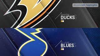 Anaheim Ducks vs St. Louis Blues Oct 14, 2018 HIGHLIGHTS HD
