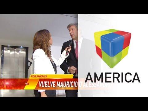 Mauricio DAlessandro habló de su regreso a América, con La Corte