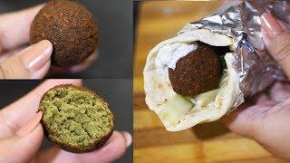 How to Make Falafel balls at home!