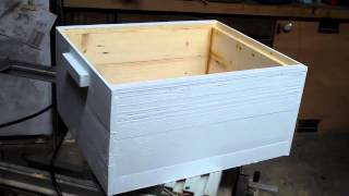 Beekeeping. Part 1, building hives.