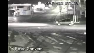 Acidente com carro oficial - TNH