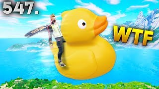 FLYING ON A RUBBER DUCK..!!! Fortnite Daily Best Moments Ep.547 Fortnite Battle Royale Funny Moments