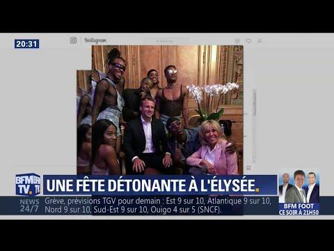 Fête de la musique: la photo du couple Macron entouré de danseurs fait réagir l'opposition
