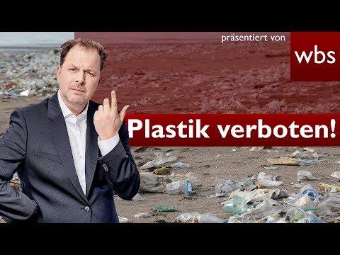 Plastikteller und Strohhalme jetzt verboten –Was steckt dahinter? | Rechtsanwalt Christian Solmecke