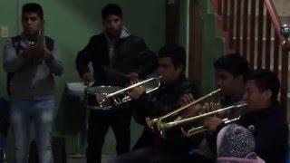 Filarmónica Aires Oaxaqueños, Bailarín. Autor Ezequiel Guzmán