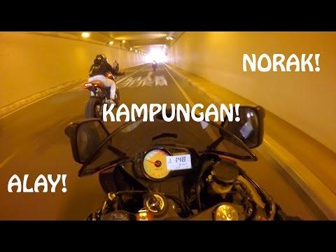 Satmori - Norak Masuk Terowongan #ikyciwirmotovlog