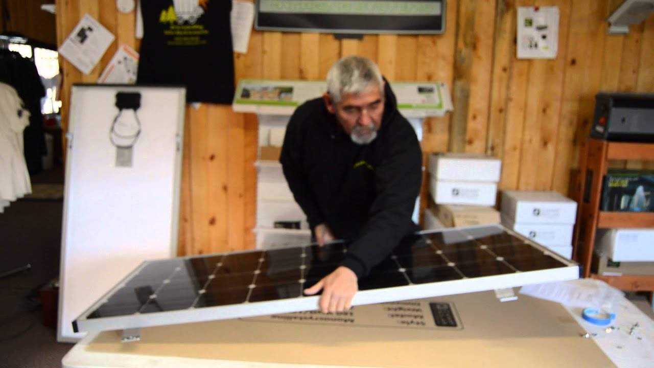 Rv Solar Panels Made In The Usa By Zamp Solar Mounting