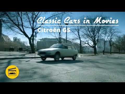 Classic Cars In Movies - Citroen GS