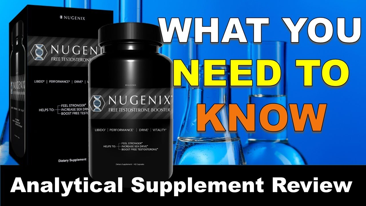 Nugenix Free Testosterone Booster - In Depth Supplement Review - YouTube