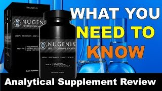 Nugenix Free Testosterone Booster  In Depth Supplement Review