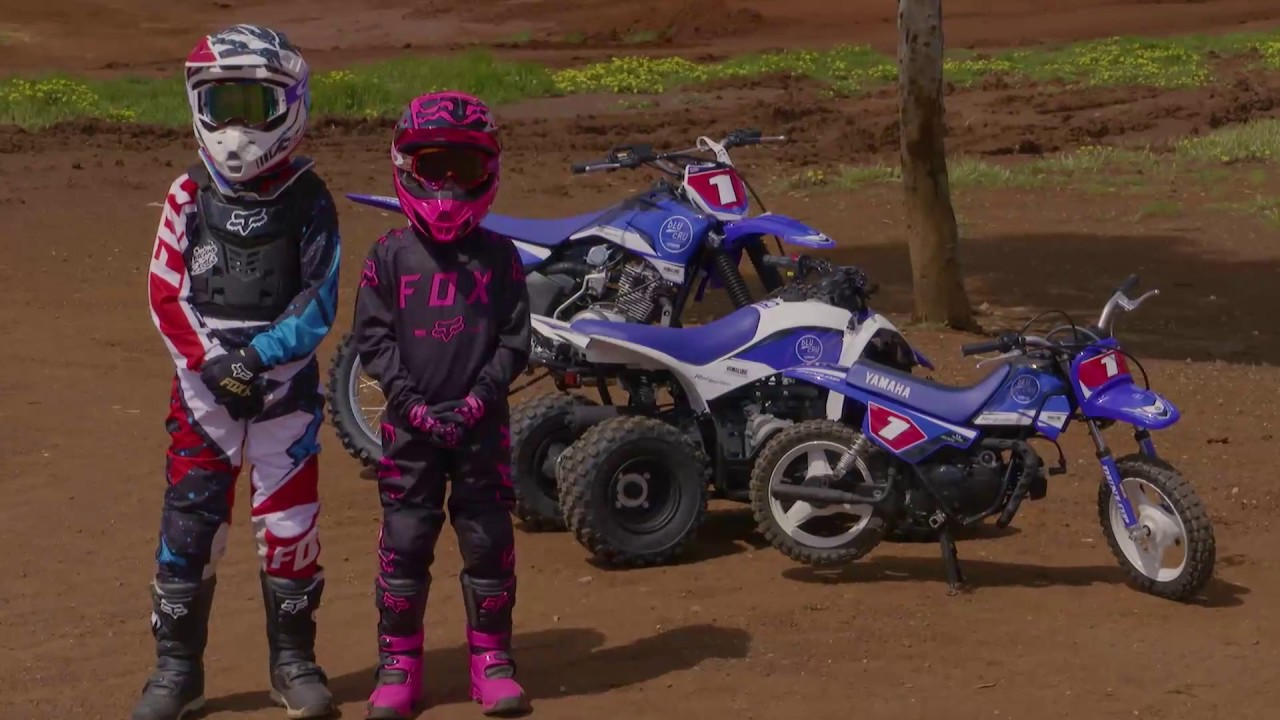 MXTV Bike Review - 2017 Yamaha TTR125, PW50 and YZF50