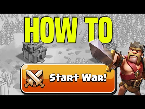 Clash Of Clans | How To Start A Clan War