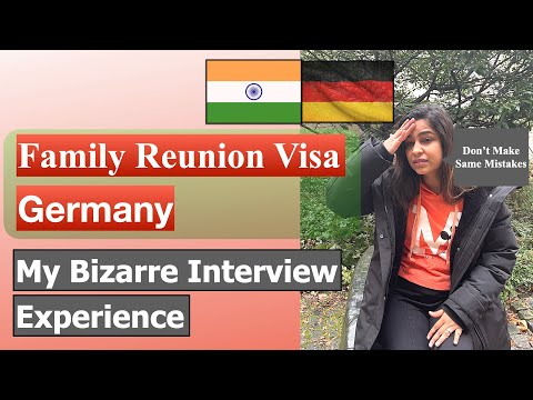 Family Reunion Visa Interview Experience From India | Appointment For Family Reunion Visa