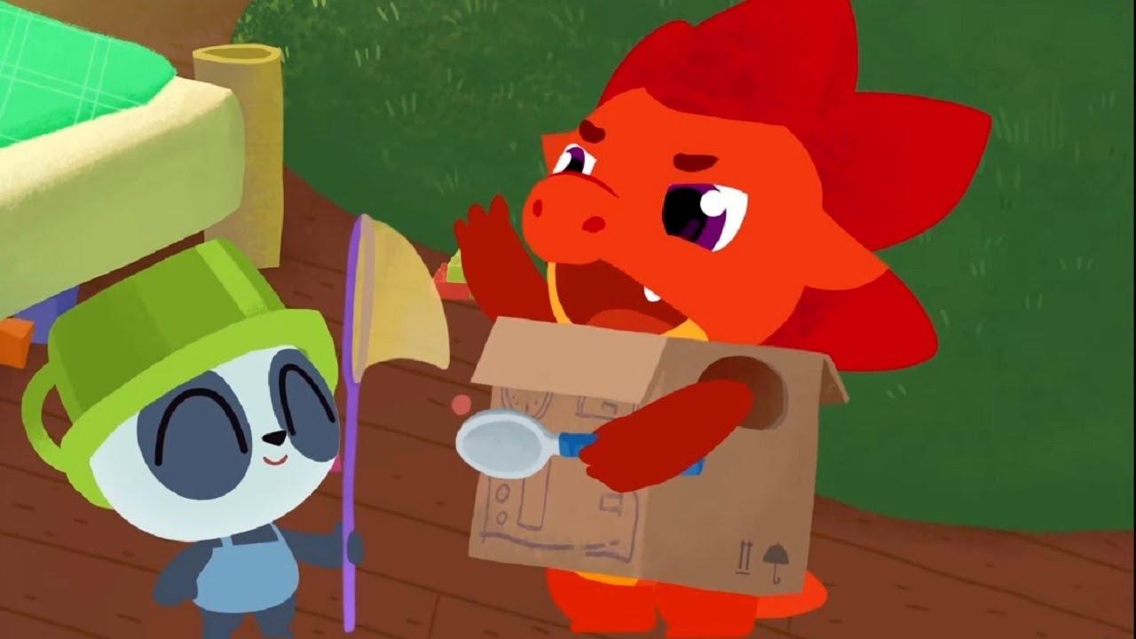 Дракоша Тоша - все серии сразу - сборник  - развивающий мультфильм для детей