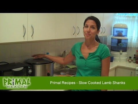 Primal Recipes - Slow Cooked Lamb Shanks
