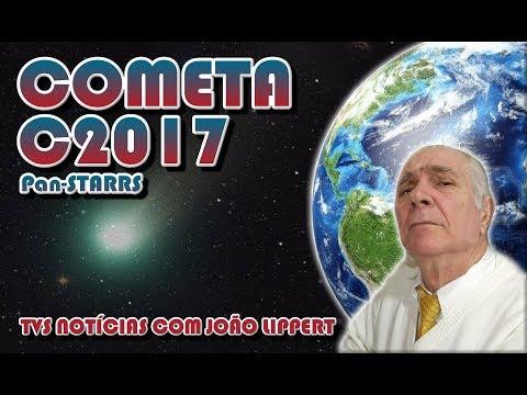 Cometa C2017 S3 poderá ser visto em 15 de agosto de 2018!