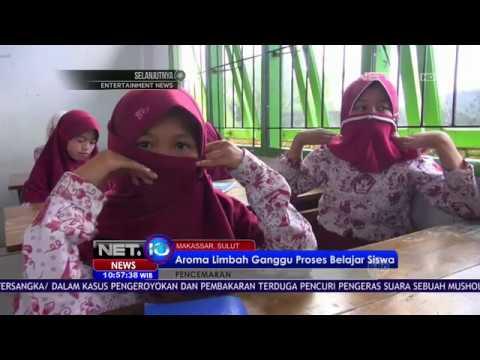 Aroma Limbah Ganggu Proses Belajar Siswa SD di Makassar - NET10