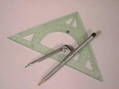 Как начертить октаэдр пошагово