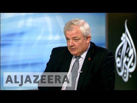 UN humanitarian chief Stephen O'Brien speaks to Al Jazeera