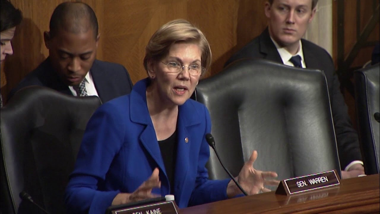 Sen. Elizabeth Warren Questions Nominee for Education Dept. Assistant Secretary for Civil Rights