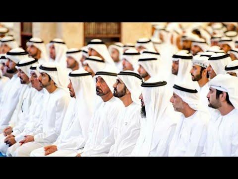 Dubai Sheikh Mohammed bin Rashid performs Eid al-Fitr Prayer at Zabeel Mosque • Bhatkal Trolls