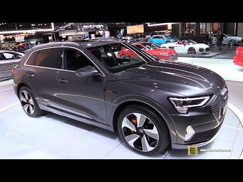 2019 Audi e-Tron - Exterior and Interior Walkaround - 2018 LA Auto Show