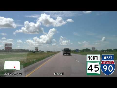 Time Lapse Drive - Minneapolis, MN to Rapid City, SD