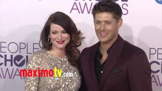 jensen ackles and pregnant daneel harris people s choice awards 2013 red carpet arrivals