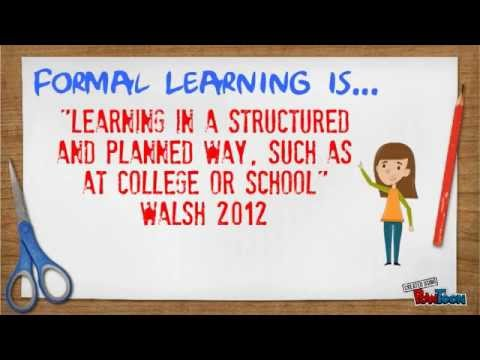 Formal and Informal Learning P1