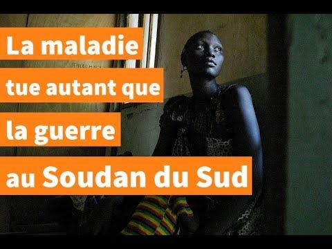 Au Soudan du Sud, les maladies aussi mortelles que la guerre | AFP Reportage