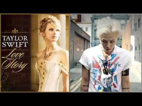 MASHUP Love Story (Taylor Swift) X Crooked (GDragon)