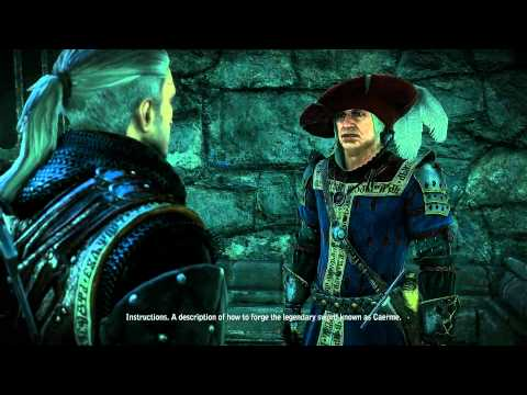 Let's Play The Witcher 2 - Part 84 - Gargoyle Contract II [BLIND] (PC) (Enhanced Edition)