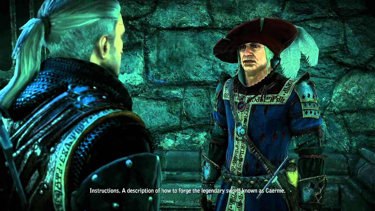 Let's Play The Witcher 2 - Part 84 - Gargoyle Contract II ...