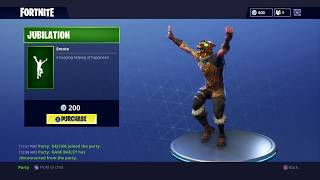 "NEW ""JUBILATION"" DANCE (Celebration Emote) - Fortnite Battle Royale (Daily Update 24-3-18)"