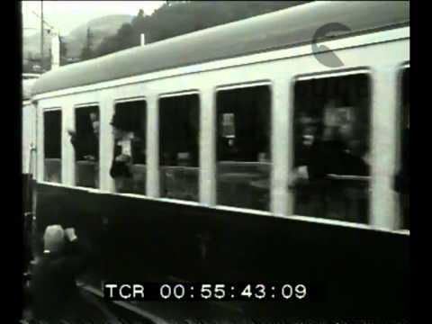 Inaugurazione della linea tranviaria Vicenza Recoaro